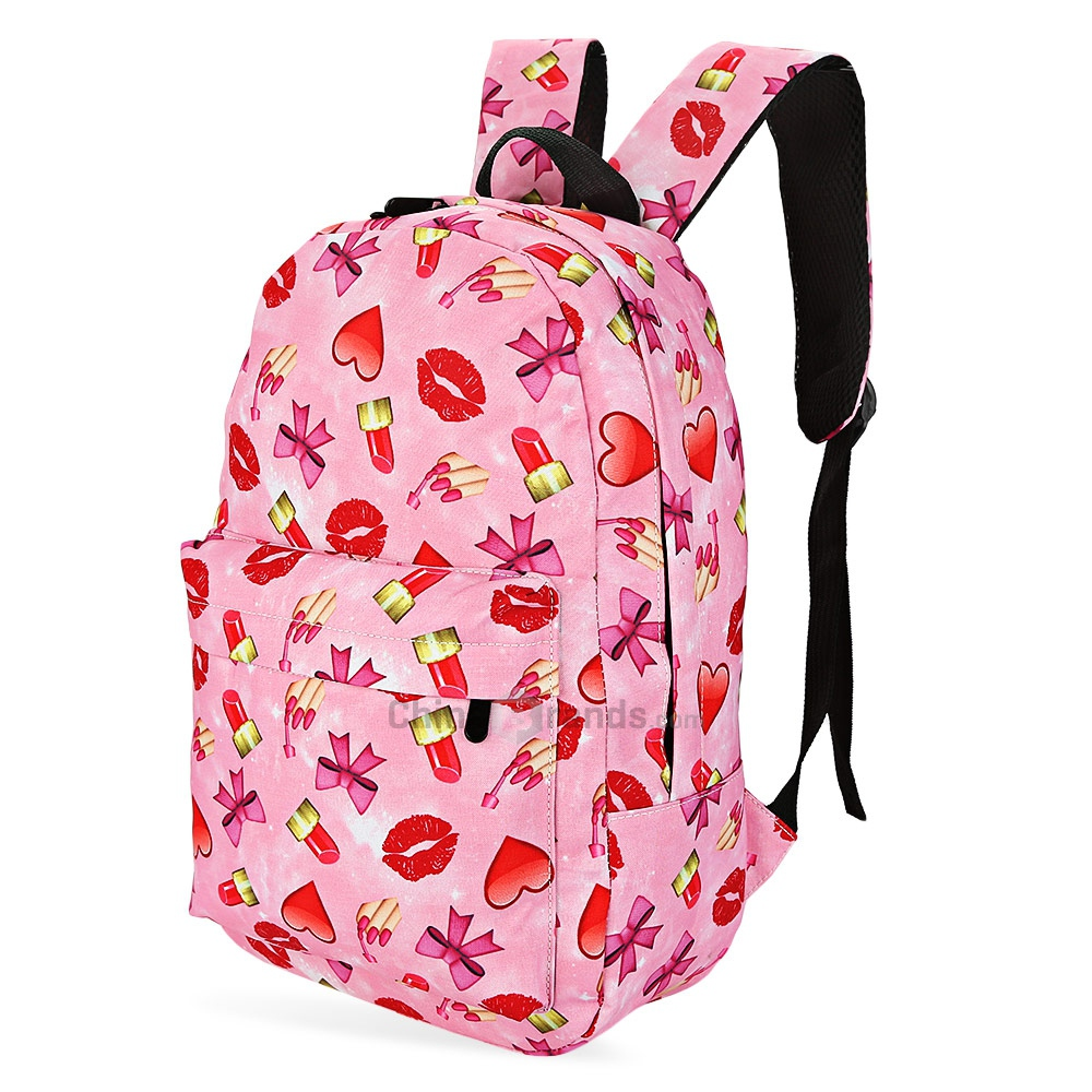 New Women Brand Travel Backpack Cute Pineapple Printing Backpack Female Students Canvas Backpack Bag Mochila Mujer