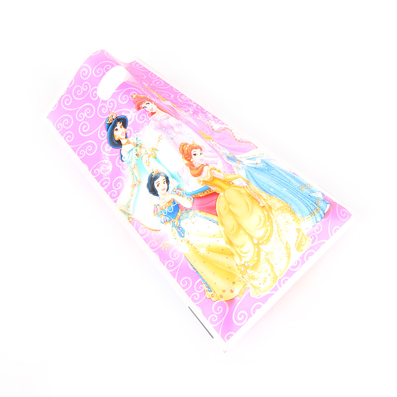 Image 5 - 10pcs/lot Disney Princess Cartoon Gifts Bags Kids Birthday Party supplies Baby Shower Favor Event Birthday Party Decoration-in Gift Bags & Wrapping Supplies from Home & Garden