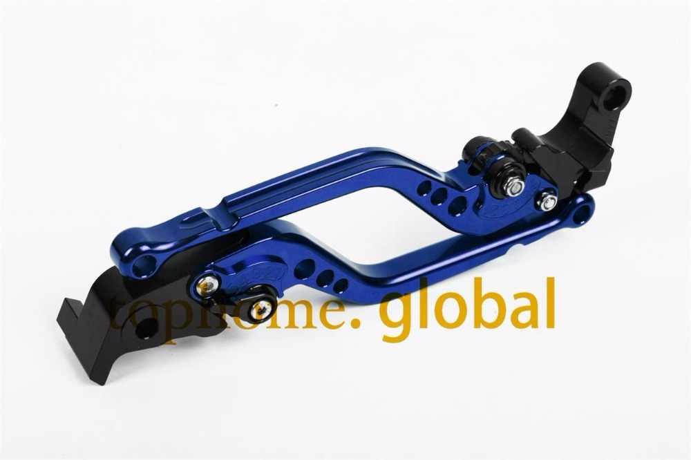 For Yamaha YZF R6 1999 - 2004 / R1 2002 2003 Long Clutch Brake Levers CNC Adjustable 17.7cm 10 Colors
