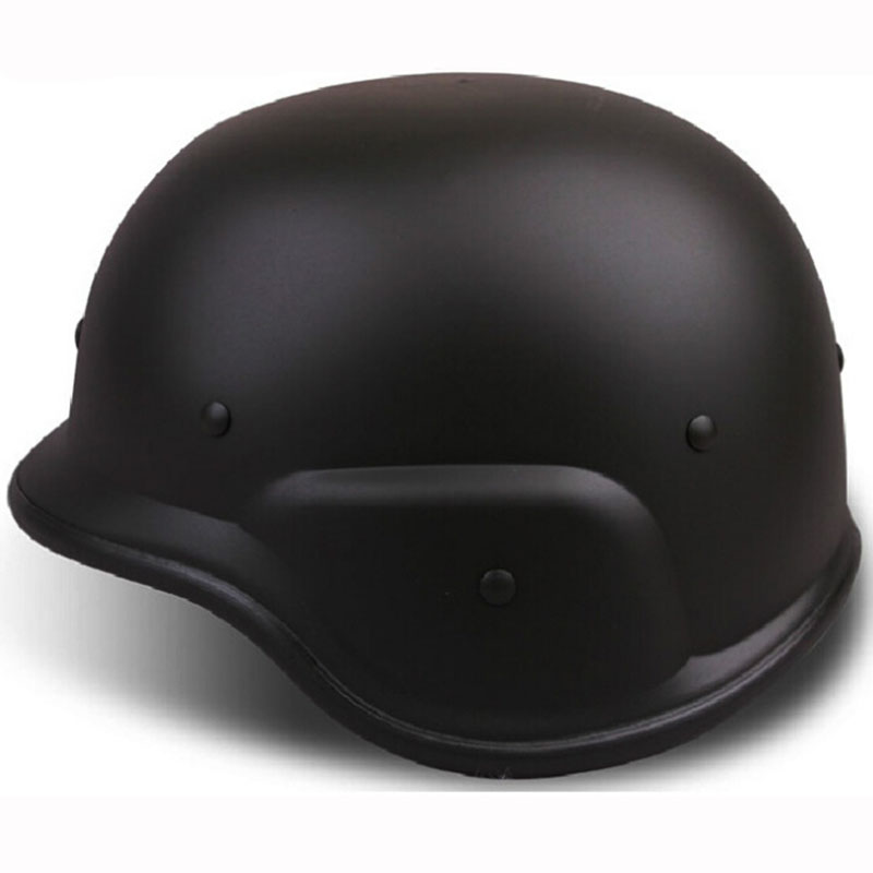 Safety Helmet Outdoor Cosplay US Army War Game Tactical Helmets Movie Prop Protective Tactical Accessories for Airsoft Paintball protective outdoor war game military tactical full face shield mask black