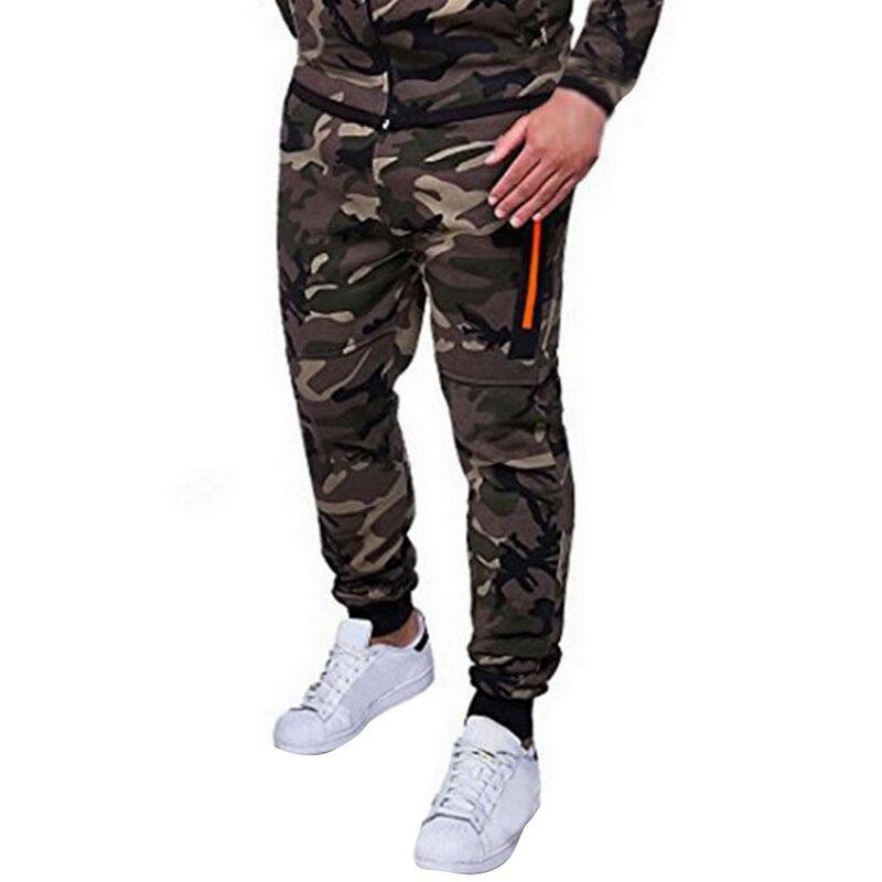 Puimentiua Mens Camo Joggers Sweatpants 3XL Brands 2019 Auutmn Male Military Gym Fitness Pencil Harem Comfortable Cargo Trousers