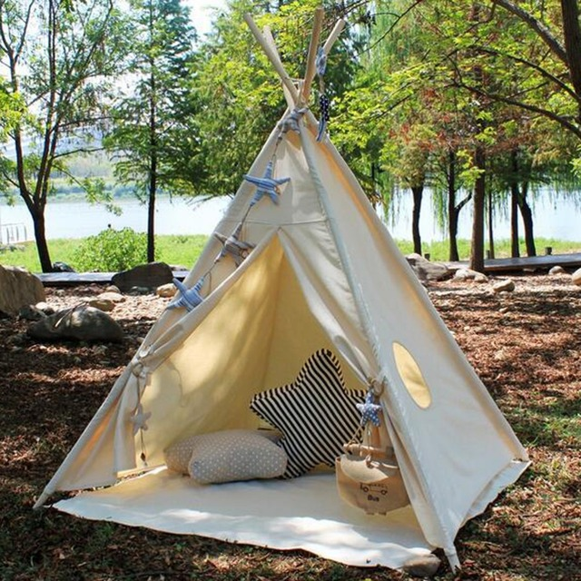 Buy fessyc childrens teepee teepee kids for Reliable tipi