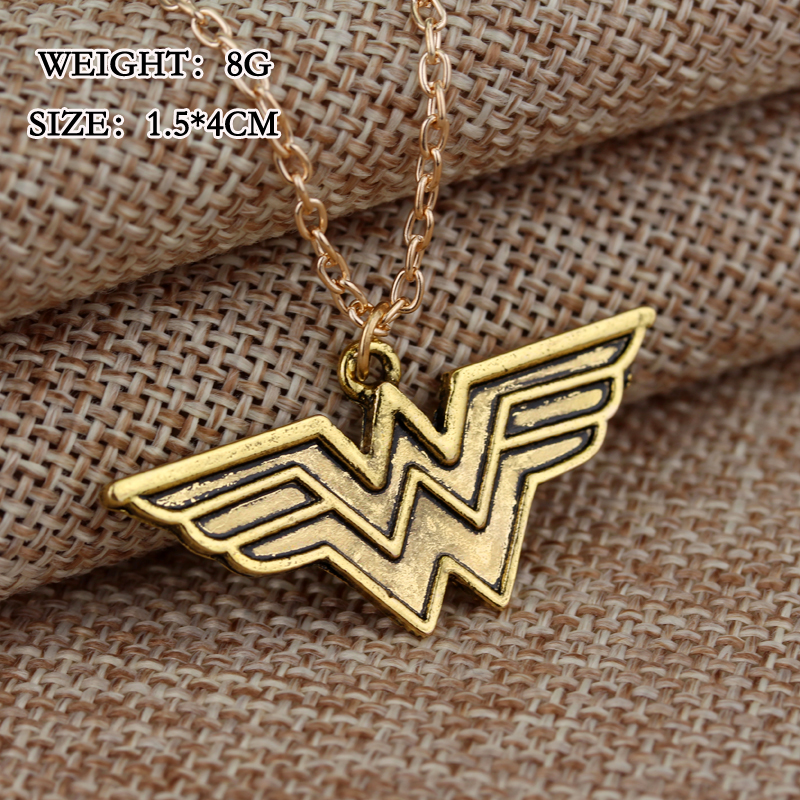 Freeshipping wonder woman pendant necklace gold maxi statement freeshipping wonder woman pendant necklace gold maxi statement jewelry super wonder hero accessory long necklaces in pendant necklaces from jewelry aloadofball Image collections