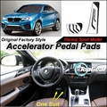 Car Accelerator Pedal Pad / Cover of Original Factory Sport Racing Model Design For BMW X4 F26 2014~2015 Tuning