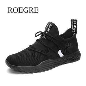 Image 4 - Baskets en maille pour hommes, chaussures de mouvement légères respirantes, à la mode, pour automne et été 2019, collection chaussures décontractées
