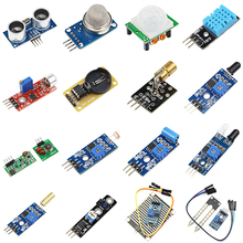 New Arrival 16 in 1 Raspberry Pi 3 /2 Sensor Module Package 16 Kinds of Sensor for Arduino Free shipping