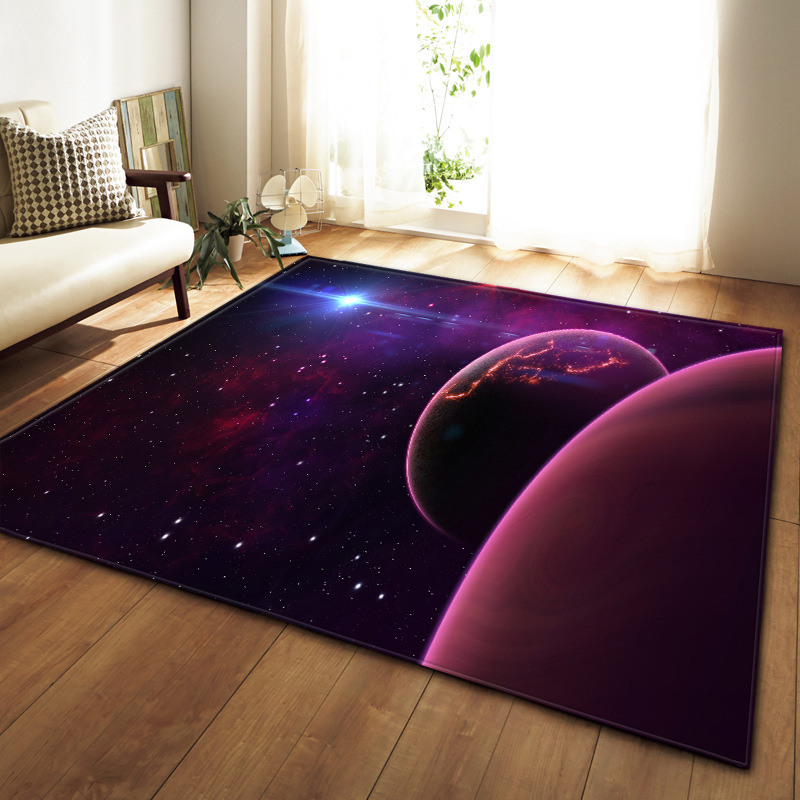 SKTEZO Sky 3D Trend Living Room Carpet Area Rug for  Carpets Rugs and Home