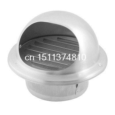 Roof Extractor <font><b>Fan</b></font> Louver Ventilation Grill Air Vent Grill for <font><b>100mm</b></font> <font><b>Duct</b></font> image