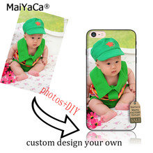 MaiYaCa Personalized Custom Picture Phone Case Create Your Own Photo Custom Case-Shock Absorbing silicone TPU Case for iphone(China)