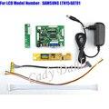 HDMI VGA 2AV Placa LVDS Controlador + Inversor Backlight + 30 Pinos Lvds Cable Kits para LTN154AT01 1280x800 1ch Visor Do Painel de LCD de 6 bits