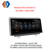 Для LHD BMW F20 F21 F22 F23 НБТ CIC обувь по заводским ценам 1 Din Авто мультимедиа радио автомобиля gps навигации Android 8,1 стерео 2