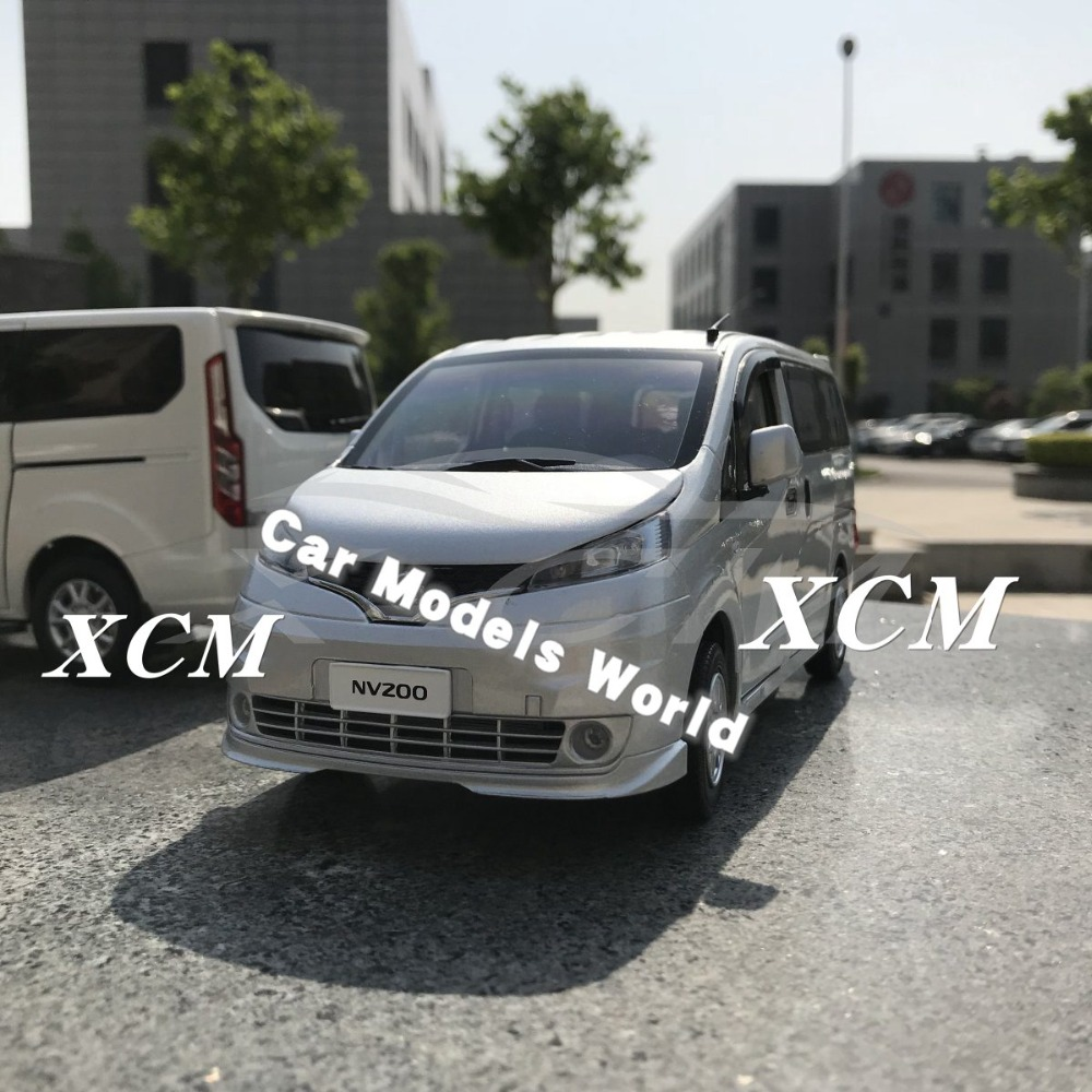 Diecast Car Model for NV200 MPV 1 18 Silver SMALL GIFT