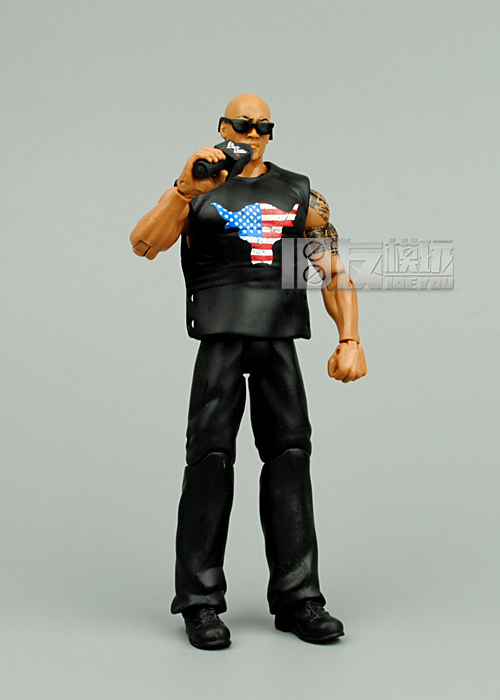 Limited! 16cm High Classic Toy The Rock occupation wrestling gladiators wrestler action figure Toys For Children Classic Gift