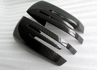 2015 2016 For Benz GLE W166/ Coupe C292 Carbon Fiber Side Door Mirror Cover Trim
