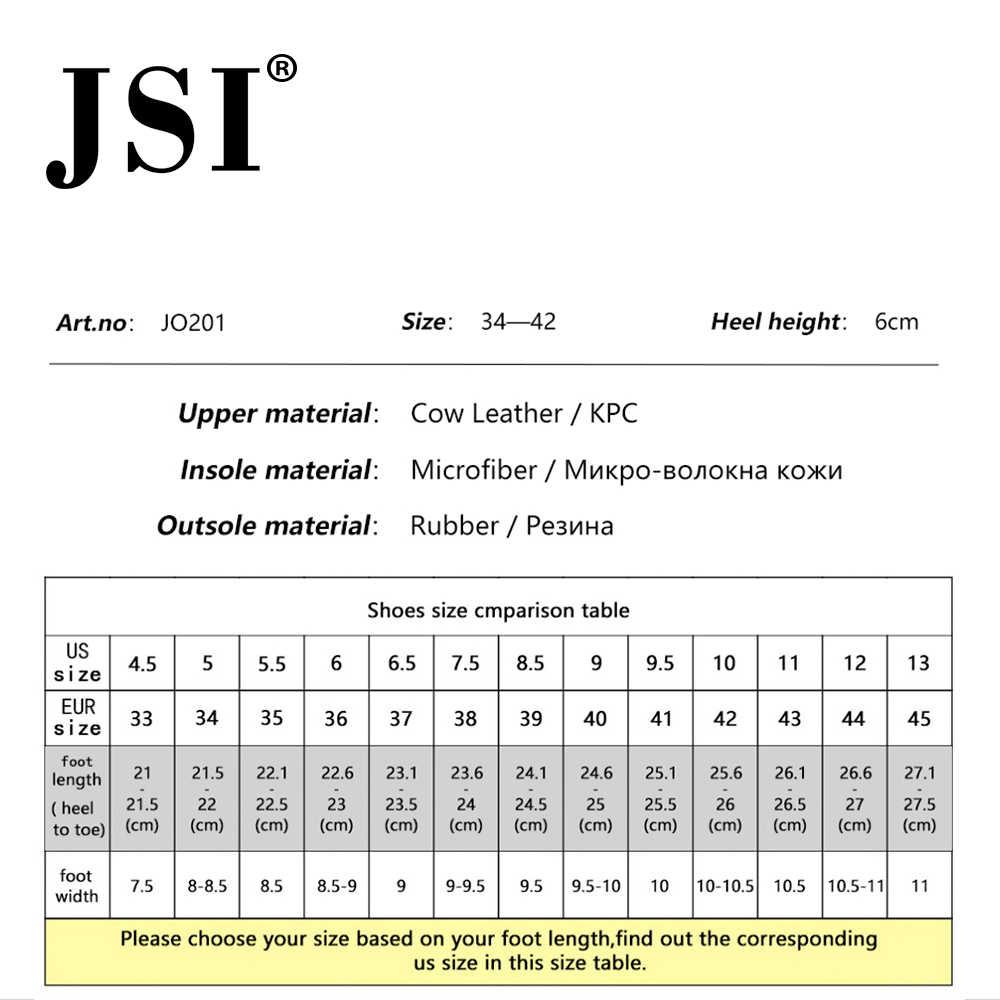 JSI/женские высокие сапоги высокого качества с острым носком на высоком каблуке, из дышащей сетки, на шнуровке весенне-осенние женские ботинки с сеткой JO201