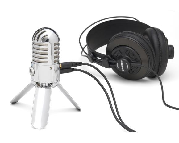 Original Samson Meteor Mic Microphone Professional USB Studio Condenser Microphone for Computer Video Recording Karaoke Mic-in Microphones from Consumer Electronics    1
