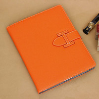 High Quality PU Leather Smart Cover For IPad Air Flip Stand Case For IPad Air 2