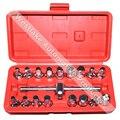 18 pcs Hexagonal Chave Ferramenta de Remoção de Dreno de Óleo Definir Quadrado Kit Adaptador Porca Ferramenta
