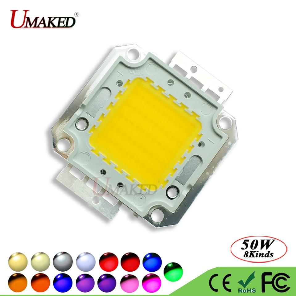 UMAKED High Power COB Diode 50W LED Chip SMD 30Mil Genesis Photonics Light chips Warm/Natrual/White/Cool For led Bulb Spotlights