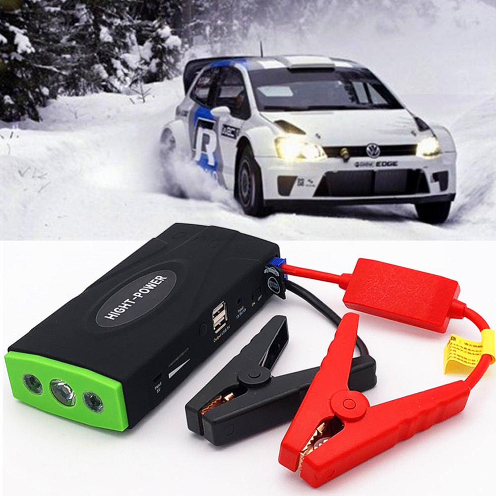 Mini Portable Car Jump Starer Power Bank 600A 12V High Power Starting Device Mobile Car Charger For Car Battery Booster Buster