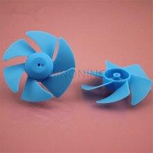 10 шт. синий вихревой вентилятор пропеллер шесть лопастей лопасти технологии блок частей