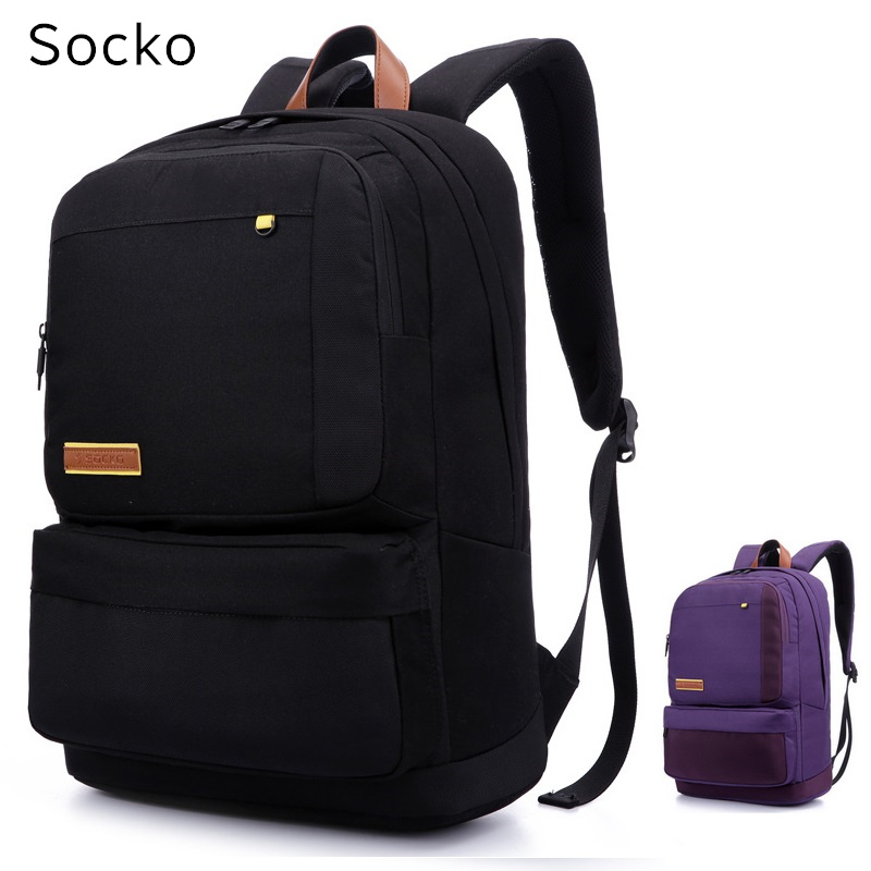 2017 New Brand Socko Backpack For Laptop 15,15.4, 15.6 , Notebook 15 inch Bag, Packsack,Travel School Bag,Free Drop Shipping new hot brand canvas backpack bag for laptop 1113 inch travel business office worker bag school pack free drop shipping 1133
