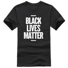 LUSLOS Casual T Shirt  Black Lives Matter Shirt, Comfortable Cotton Summer O Neck Tee
