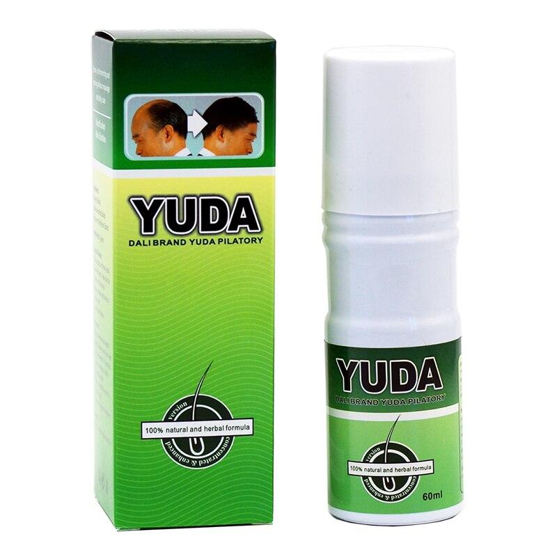 Chaude puissant pilatory croissance des cheveux traitement de Cheveux originale Nouveau Yuda Retrouver des Cheveux Perte Traitement Extra Stong Rapide Croissance 60 ml