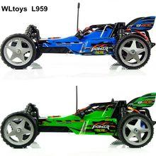 Wltoys L959 1:12 Масштаб дистанционного управления RC гоночный автомобиль внедорожный 40-50 км/час готов к работе лучший подарок для ребенка vs L202