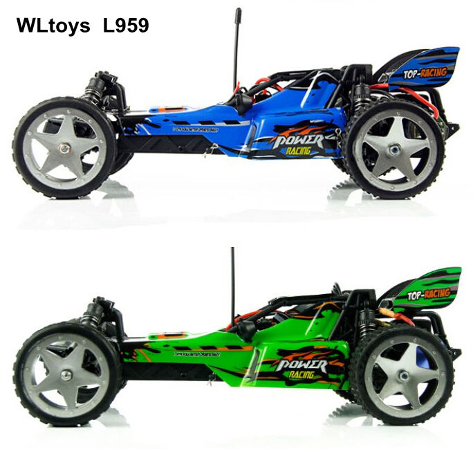 Free Shipping Wltoys L959 1:12 Scale Remote Control RC Racing Car OFF-Road 40-50km / hour ready to go Best gift for kid vs L202