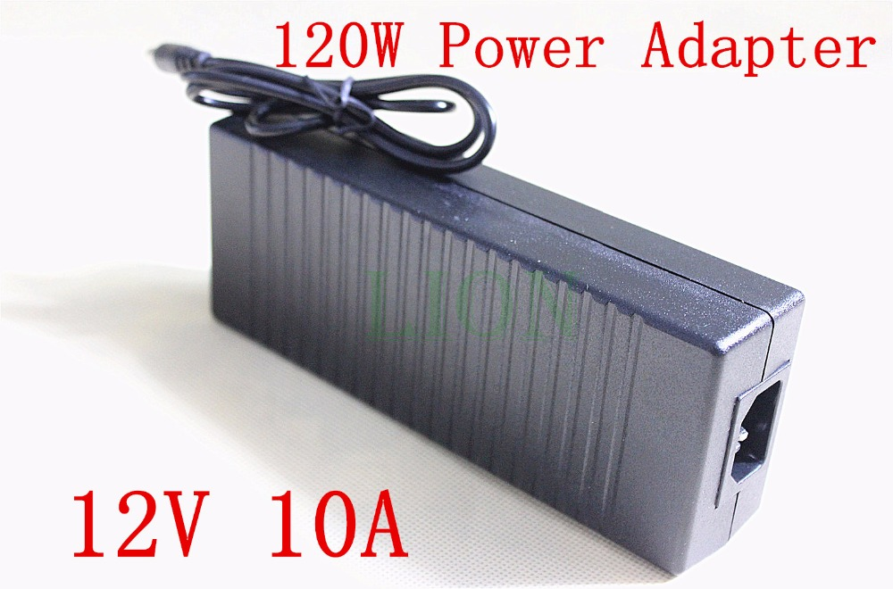 High Quality Universally Used AC Converter Adapter For DC 12V 10A 120W LED Power Supply Charger for 5050 3528 SMD Light LCD CCT lowest price new ac converter adapter for dc 12v 5a 60w led power supply charger for 5050 3528 smd led light or lcd monitor cctv