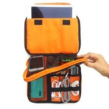 Portable Cable Storage Organizer Bag Waterproof Shockproof Earphone Digital USB Sorting Travel Insert Bags Ipad