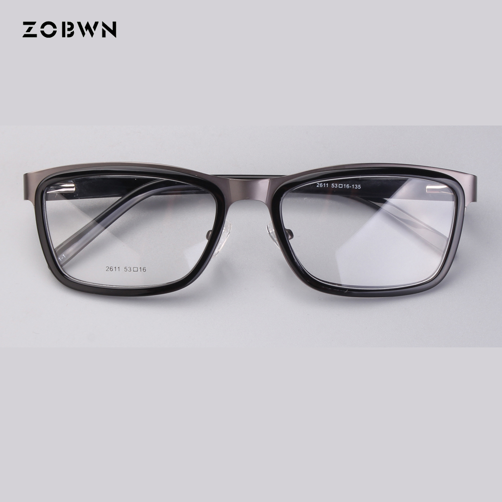 ZOBWN mix wholesale retro glasses fashion Style Eyewear Frame Women Optical Eyeglasses Computer Glasses Frame nerd glasses gafas