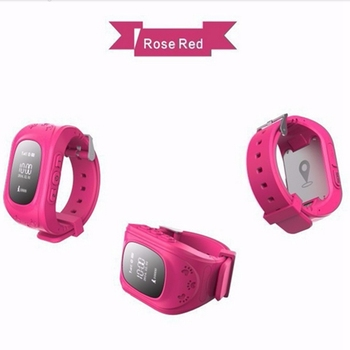 Mini GPS tracker smart kids safety watch phone gps tracker for Android and IOS system