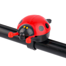 Lovely Beetle Ladybug Cycling Safety Bicycle Bell Ring For Kids Boys Girls Bicycle Bike