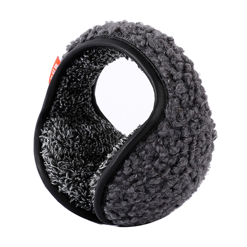 Foldable Earmuffs Creative Burger Shaped Headband Ear Muffs Fur Winter Ear Warmer Earmuffs Ear Muffs Earlap Oorwarmers R4 Men's Accessories