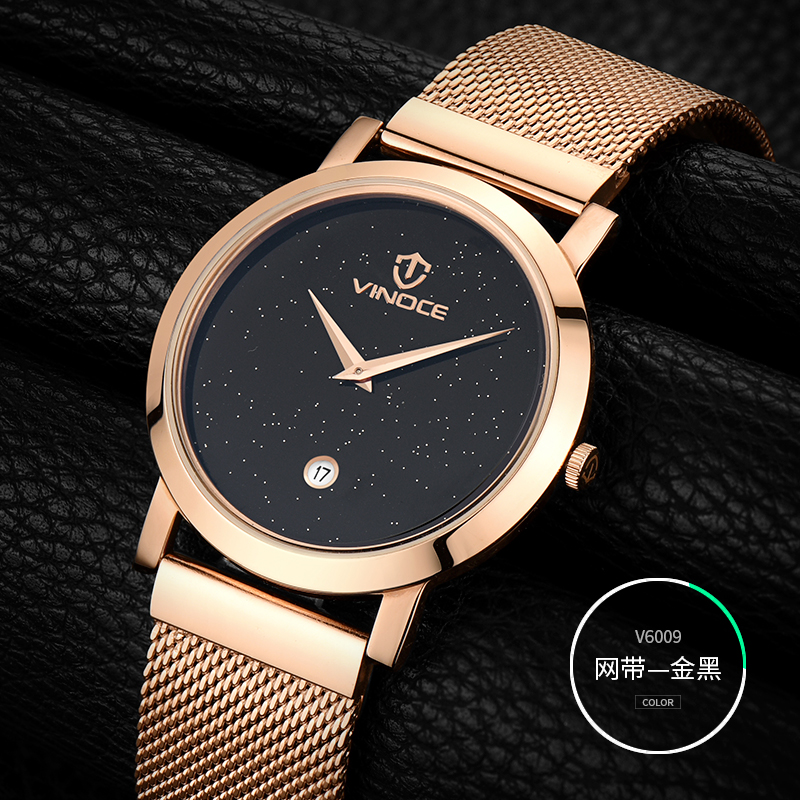 relogio masculino VINOCE Mens Watches Top Brand Luxury Sport Quartz Watch Men Business Stainless Steel Waterproof Wristwatch weide popular brand new fashion digital led watch men waterproof sport watches man white dial stainless steel relogio masculino