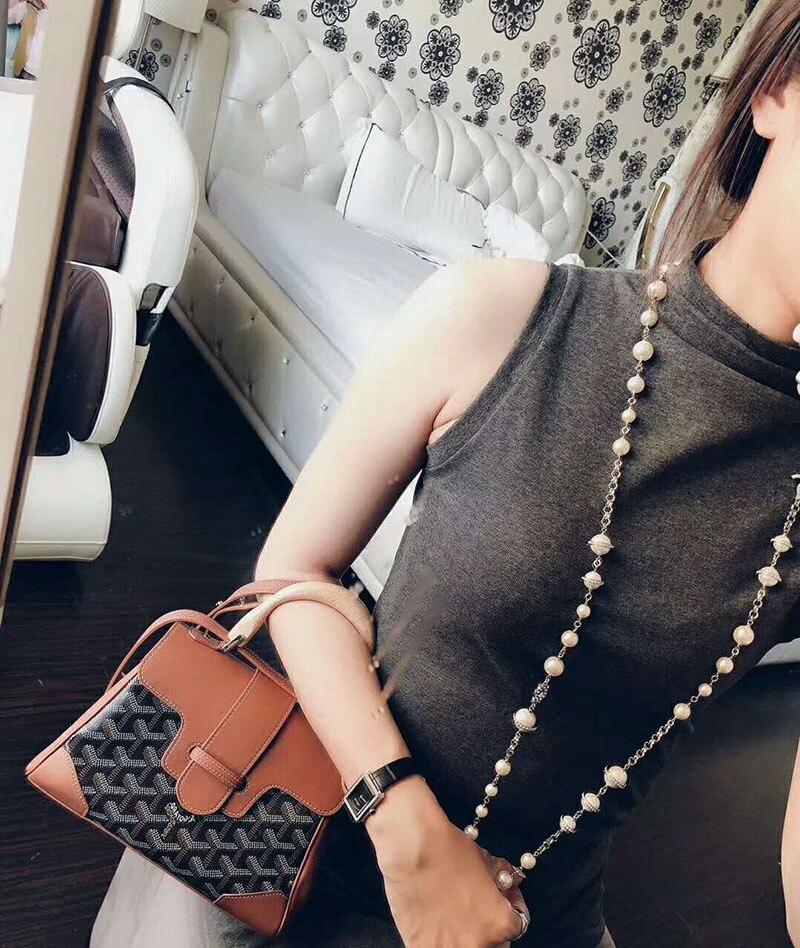 Mode sieraden Voor Vrouwen Dubbele gebreide Trui Keten C merk Vintage Koper Ontwerp Fashion Party Ketting-in Schakel ketting van Sieraden & accessoires op  Groep 1
