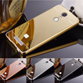 Mirror Case For xiaomi redmi note 3 pro Mirror Back Cover & Aluminum Metal Frame Set Hot Phone Case Housing Fundas redmi note3