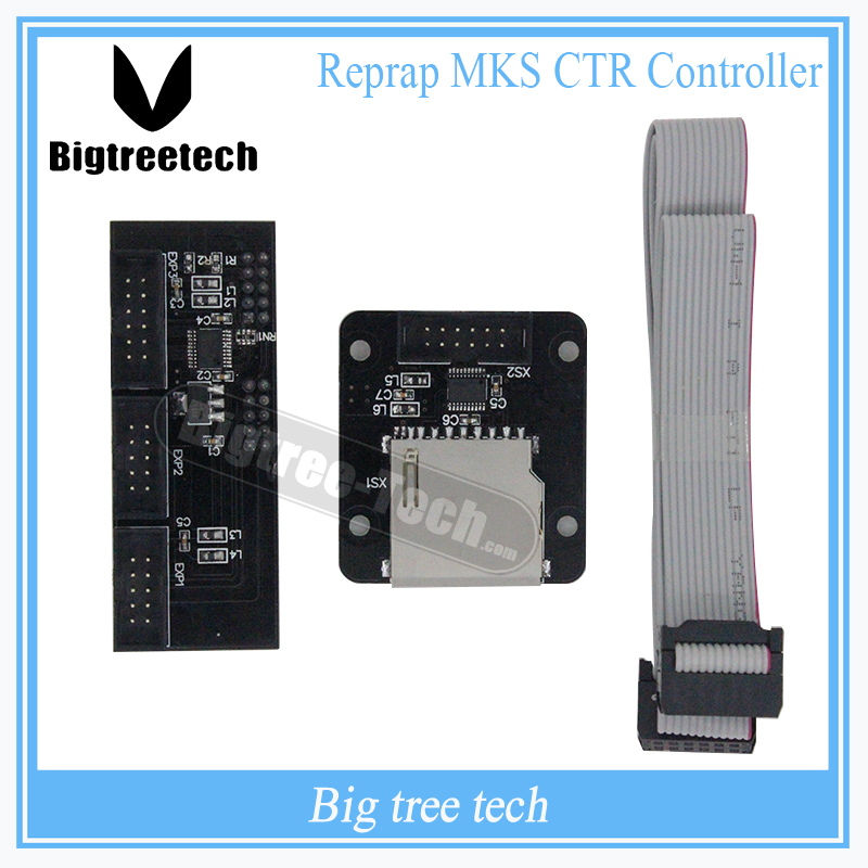 3D Printer Reprap MKS CTR Controller Board SD Card Compatible With12864 2004 LCD