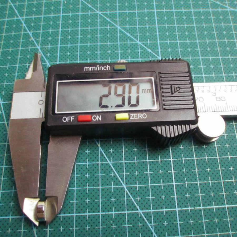 "Xiaozhufeifei 100 יחידות 8 מ""מ x 3 מ""מ 8x3 מגנט עגול חזק 8x3 דיסק 8*3 נדיר Earth Neodymium חדש אמנות קרפט חיבור"