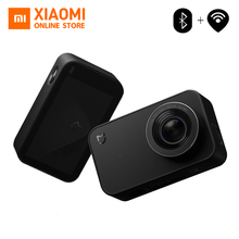 Orijinal Xiaomi Mijia Mini Eylem Spor Kamera 4 K kamera video WiFi Kameralar 145 Geniş Açı App Kontrol 2.4 Inç Dokunmatik ekran