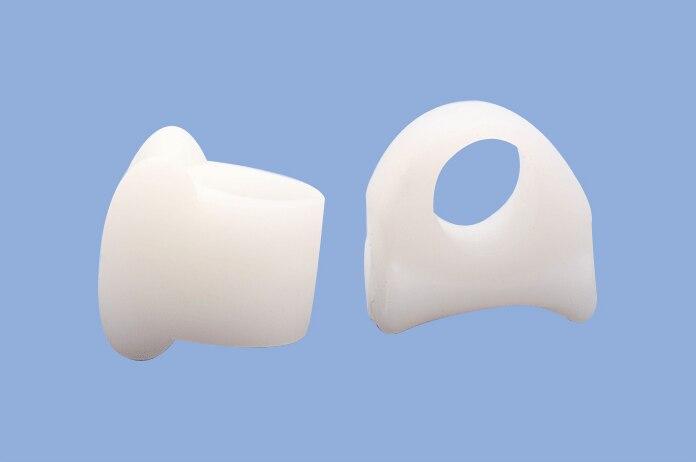 2 Pcs Toe Separator Soft Gel Hammer Claw Toe Pad Foot Care Cramp Hallux Valgus Hallux braces Foot Pain Relax Cushion  Z20401 5