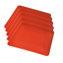 5Pcs 4 Teflon Card Window Tint Soft Car Squeegee Vinyl Film Tools for Auto Wrap Both Flat and Curved Glass Surfaces