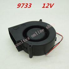 9733 вентилятор охлаждения 12 В безщеточный вентиляторы постоянного тока центробежный турбовентилятор кулер