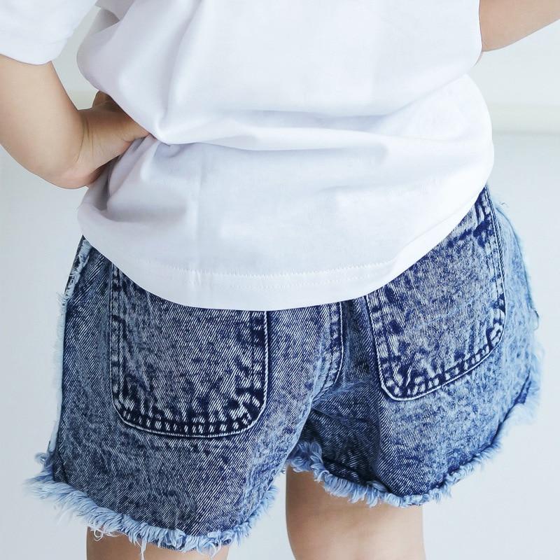 6f7ccddd42 Children summer fashion hot sale shorts denim for kids fringed shorts  tassels jeans boys girls korean style children's clothing-in Shorts from  Mother & Kids ...