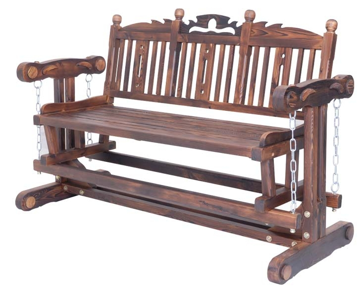 Solid Wood Chair Double Rocking