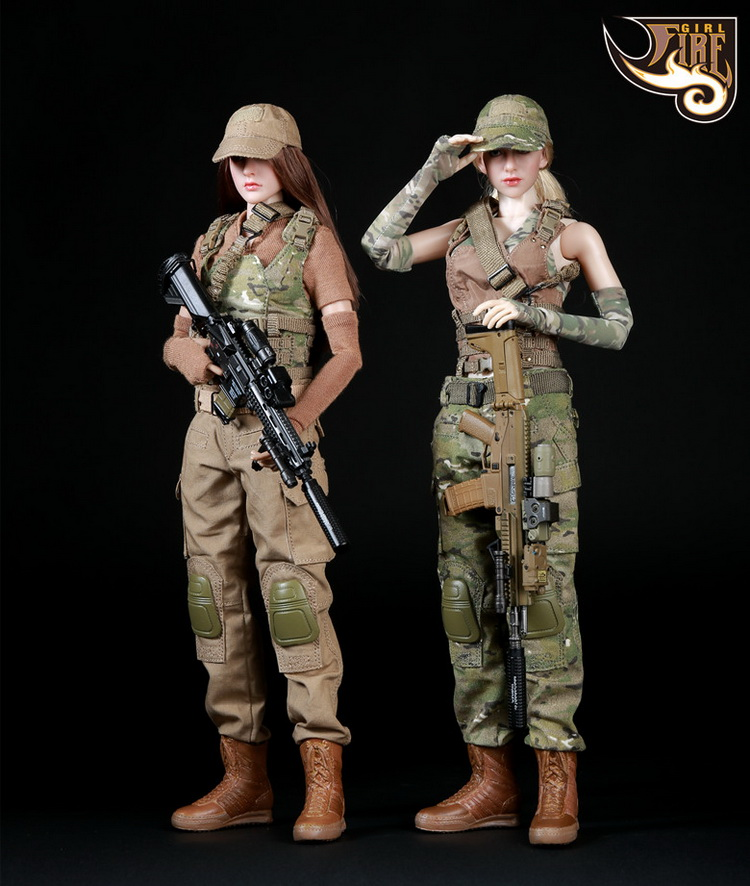 1/6th scale figure clothing accessory female Shooter clothes set for 12 Action figure doll,Not included doll;weapon and other