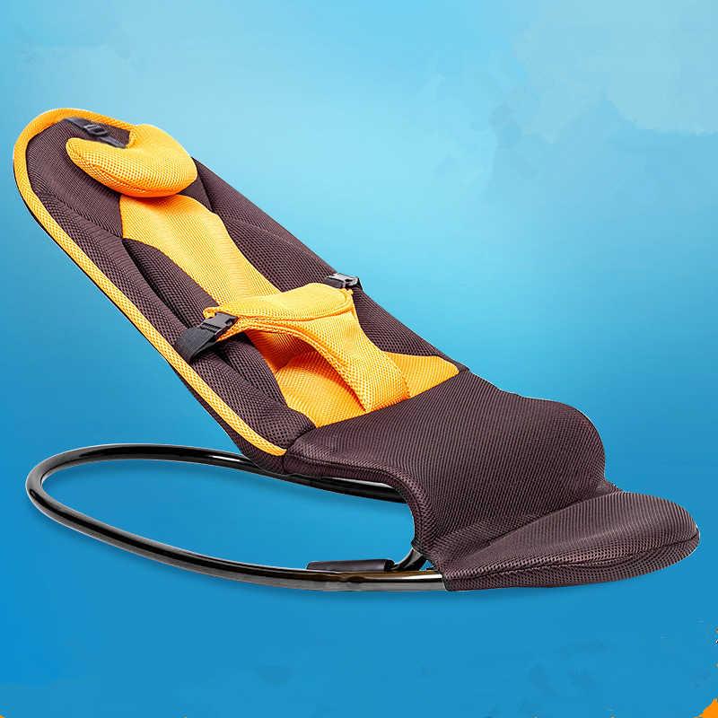 Детская кроватка стул Колыбель для новорожденных кресло детские качели Новорожденный ребенок спальный артефакт моющийся чехол ткань-электрический