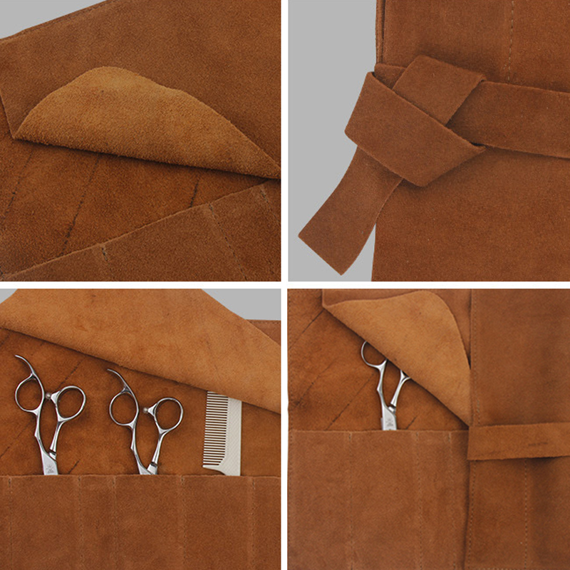 elegância design cinto longo manicure ferramentas estilo